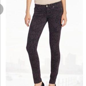 Denim - Paige | Printed skyline skinny Jeans NWOT size 27